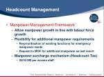 headcount management