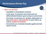 performance driven pay1