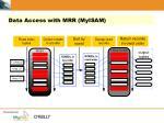 data access with mrr myisam