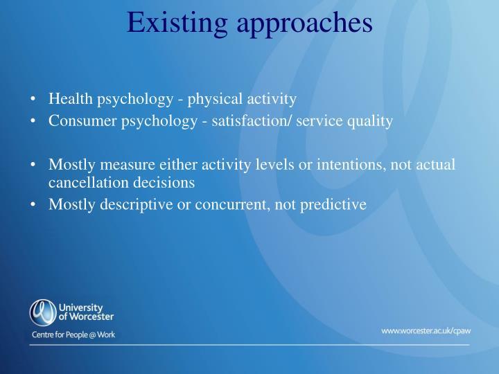 Health psychology - physical activity