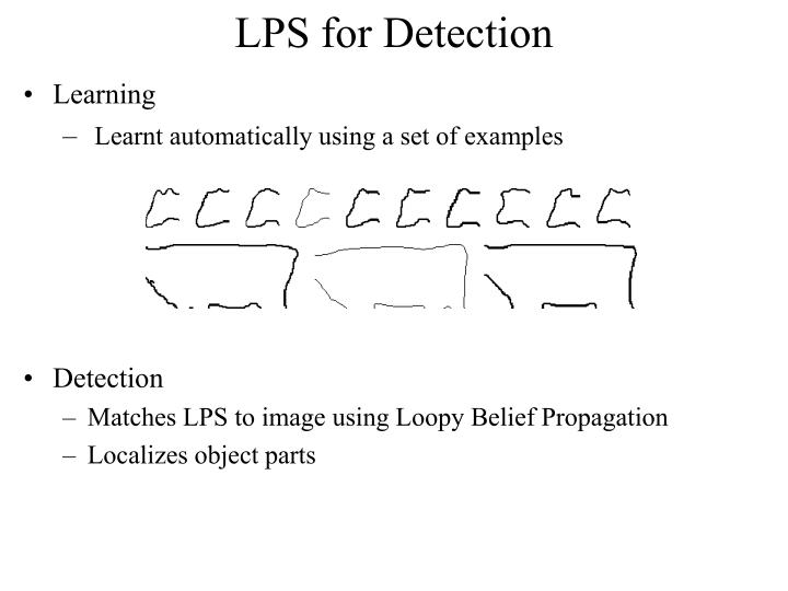 LPS for Detection