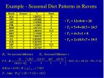 example seasonal diet patterns in ravens1