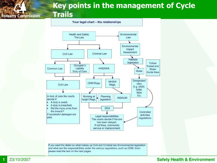 Key points in the management