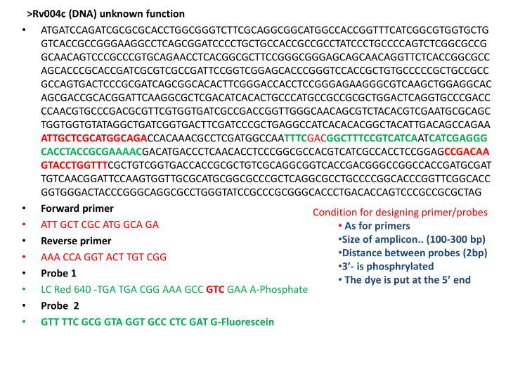 >Rv004c (DNA) unknown function