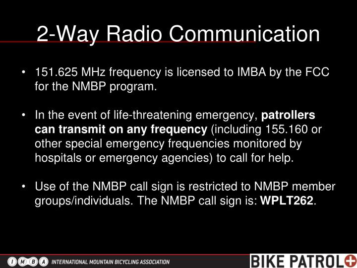 2-Way Radio Communication