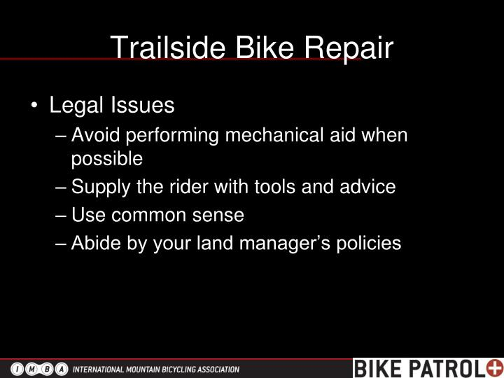 Trailside Bike Repair