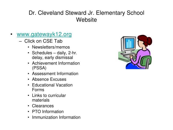 Dr. Cleveland Steward Jr. Elementary School