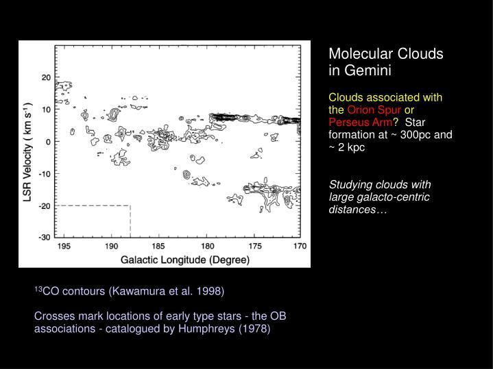 Molecular Clouds in Gemini