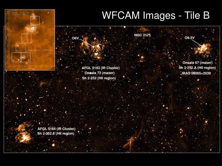WFCAM Images - Tile B