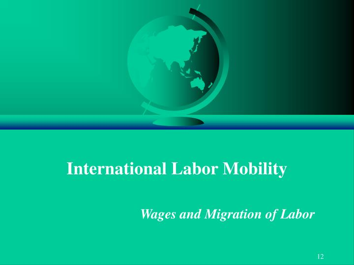 International Labor Mobility