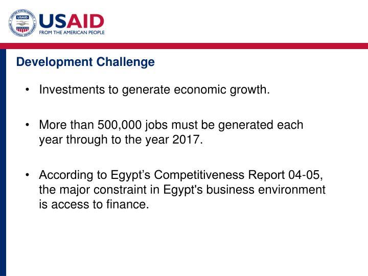 Development Challenge