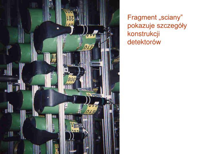 """Fragment """"sciany"""""""