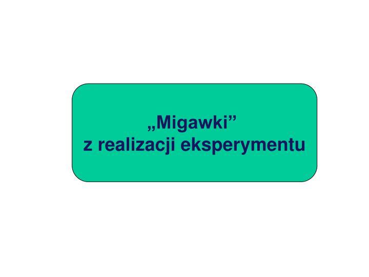 """""""Migawki"""""""