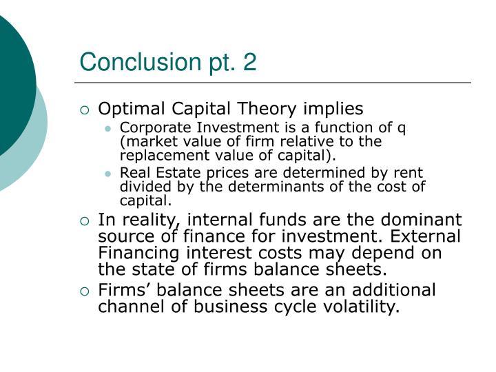 Conclusion pt. 2