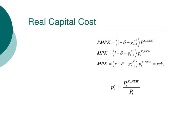 Real Capital Cost