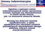 umowy indemnizacyjne2