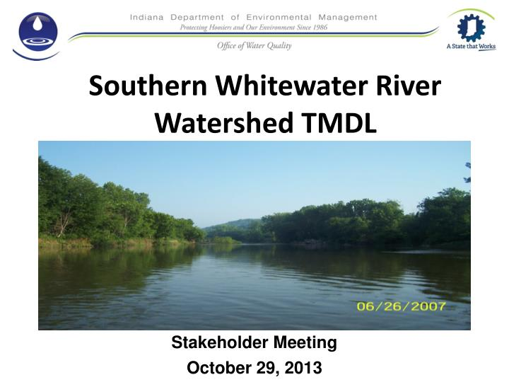 Southern Whitewater River