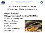 southern whitewater river watershed tmdl information