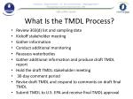 what is the tmdl process