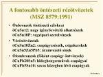 a fontosabb nt szeti r z tv zetek msz 8579 1991
