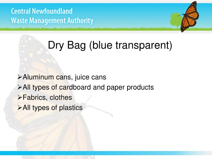 Dry Bag (blue transparent)