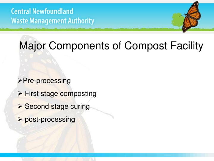 Major Components of Compost Facility