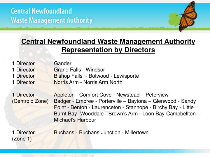 Central Newfoundland Waste Management Authority