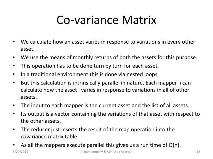 Co-variance Matrix
