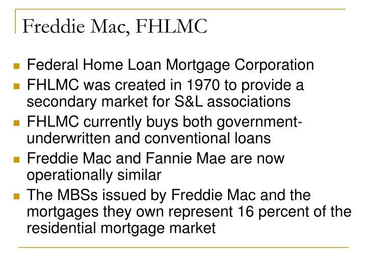 Freddie Mac, FHLMC
