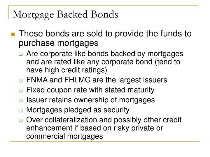 Mortgage Backed Bonds