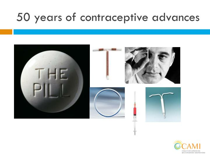 50 years of contraceptive advances