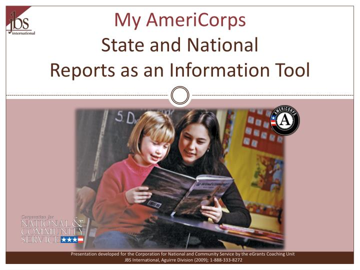 My AmeriCorps