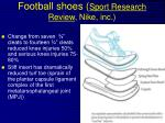 football shoes sport research review nike inc