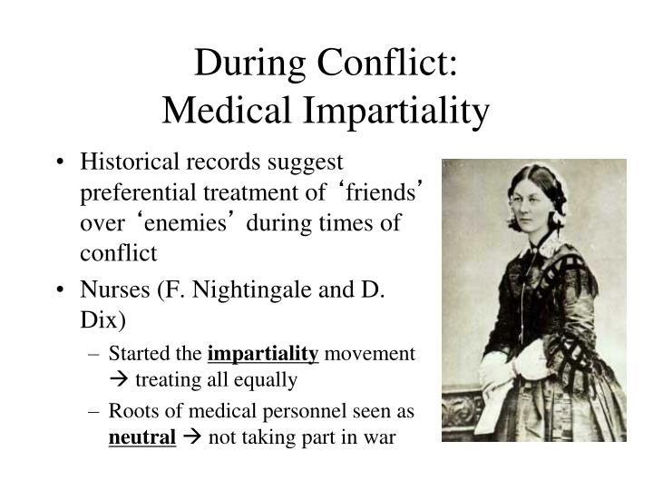 During Conflict: