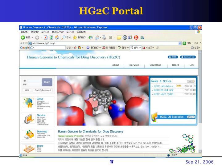 HG2C Portal
