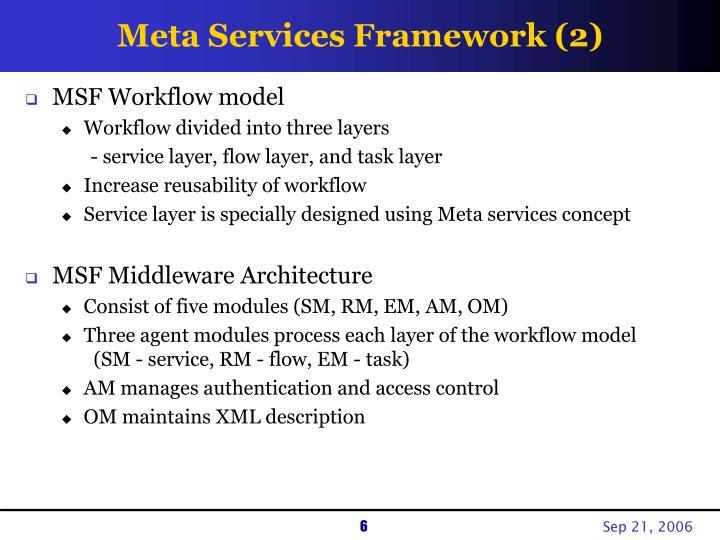 Meta Services Framework (2)