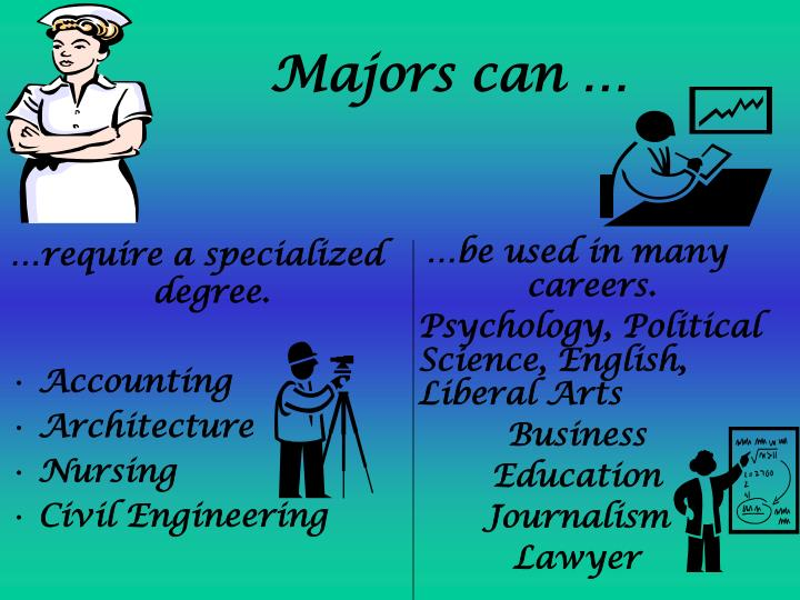 …require a specialized degree.