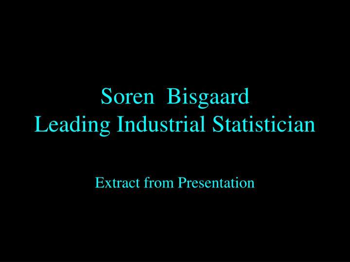 Soren  Bisgaard