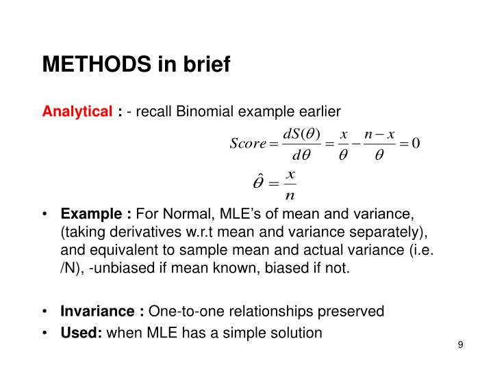 METHODS in brief