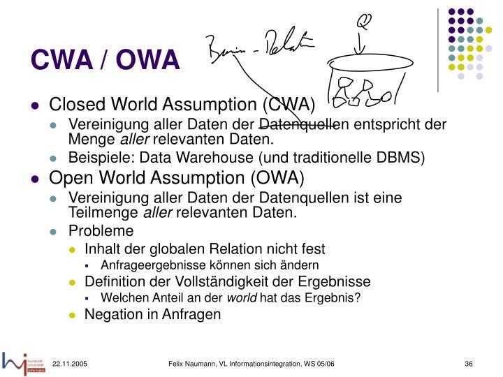 CWA / OWA