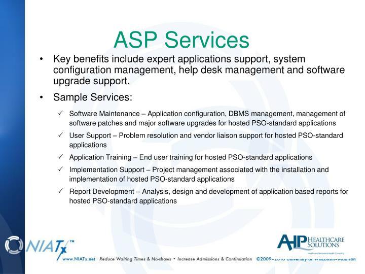 ASP Services