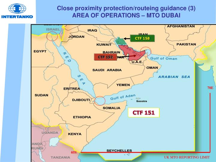Close proximity protection/routeing guidance (3)