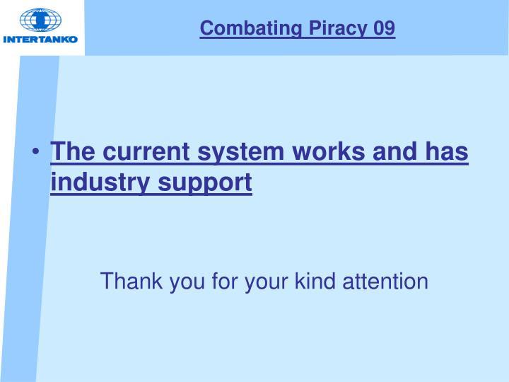 Combating Piracy 09