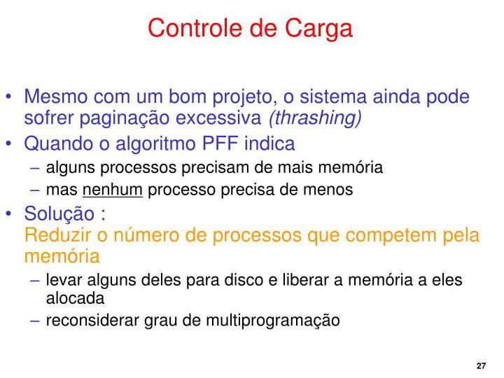 Controle de Carga