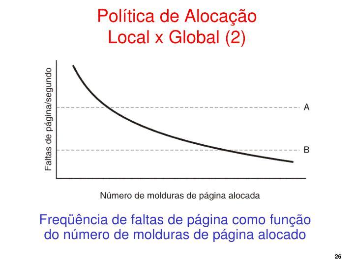 Política de Alocação