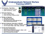 undergraduate network warfare training unwt
