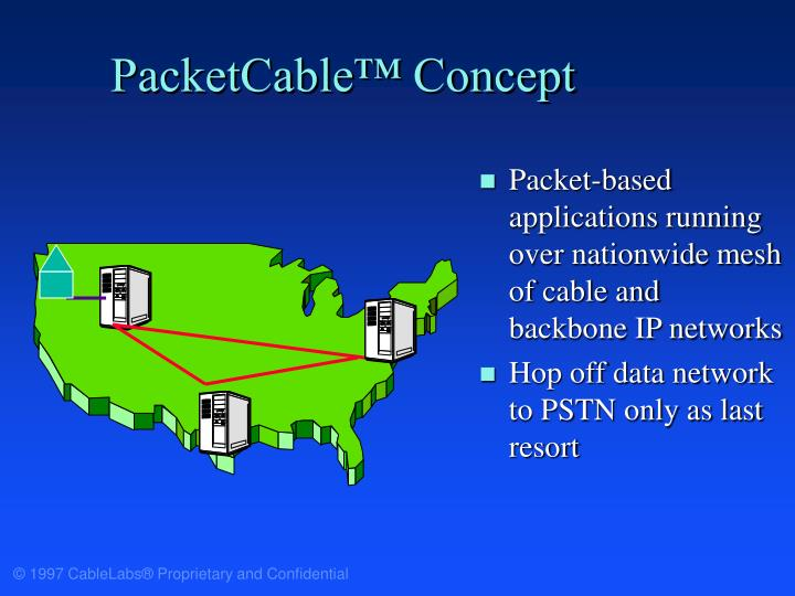 PacketCable™ Concept