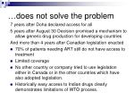 d oes not solve the problem