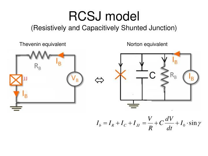 RCSJ model