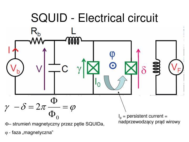 SQUID - Electrical circuit